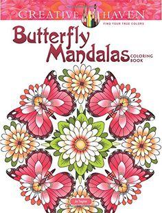 Creative Haven Butterfly Mandalas Coloring Book (Adult Co... https://www.amazon.com/dp/0486813770/ref=cm_sw_r_pi_dp_x_1wDgzb84554S9