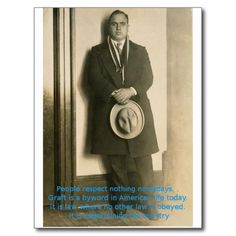 Words Of Wisdom From Al Capone? post  http://www.zazzle.com/words_of_wisdom_from_al_capone_post_card-239712570384284602card at