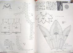 143 free diagrams for crochet pineapple stitches ⋆ Crochet Kingdom
