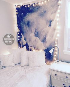 Dorm Decor Dorm Room Decor Hanging Lights Dorm by ElectricCrowns