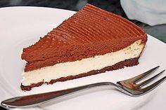 Mousse au Chocolat Käsekuchen  Ein Traum, sehr mächtig, aber sehr geil