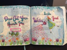 Pour out your hearts like water to the Lord 💕 Journaling, Lord, Bible, Studying, Water, Hearts, Faith, Instagram, Psalms