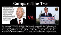 Compare the two....