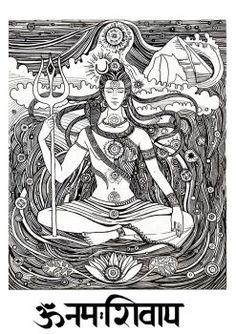 RUDRA MAHADEV by yogeshron on DeviantArt