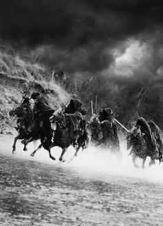authorbradjensen:     - - I look up to the ridge line and see the silhouette of someone raising a bugle. Concentrating on my footing amongst the grasses rocks and horse-shit I hear the brass instrument bellow out. I look up and see the charge. Waves of riders are pouring down the hillside.   from the Novel/Book  The REZs EDGE - Destruction & Redemption by author/writer Brad Jensen   If you LIKE or HEART it please REBLOG/SHARE Thanks!  Watch for the release date here…