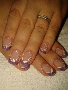 Wedding Nails-A Guide To The Perfect Manicure – NaiLovely Acrylic Nail Designs Glitter, Nail Designs Bling, Bling Acrylic Nails, Nails Design With Rhinestones, French Nail Designs, Nail Art Designs, French Nails, French Manicure Nails, Long Square Acrylic Nails
