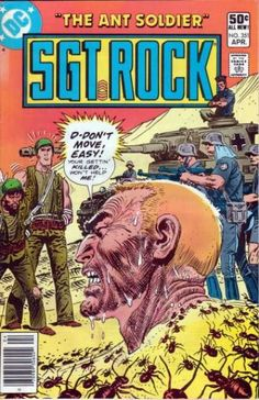 A cover gallery for the comic book Our Army at War Dc Comic Books, Comic Art, Joe Kubert, War Comics, Adventure Movies, American Comics, Pulp Art, Book Publishing, Cover