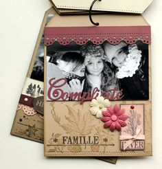 Mini album une famille en hiver - Absolutely beautiful and stylish. Really good taste