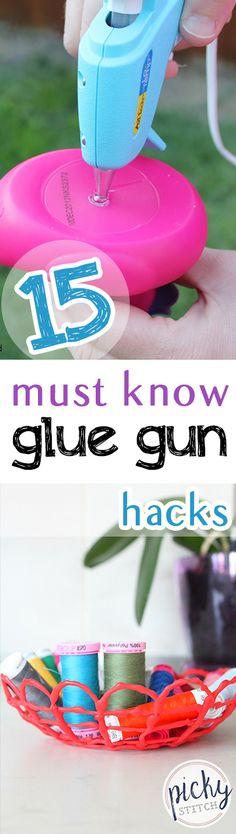 Glue Gun, Glue Gun Tips and Tricks, Things to Do With Glue Guns, Glue Gun Crafts. - Life Hacks - Welcome Crafts Glue Gun Projects, Glue Gun Crafts, Easy Craft Projects, Easy Diy Crafts, Craft Ideas, Diy Ideas, Sewing Projects, Glue Art, Craft Tutorials