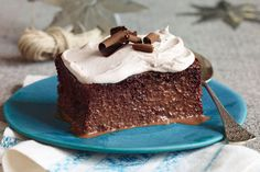 According to the recipe name, this cake's got three chocolates and three milks. In cake math, that adds up to a 5-star dessert!