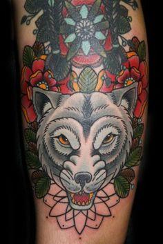 Tattoo by Katze @ Bläckfisk Tattoo Co. Berlin