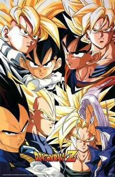 Super Saiyans Poster #dbz Also see #fantasy pics at www.fabuloussavers.com/wfantasy.shtml Thank you for viewing!