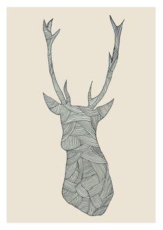 deer poster - Google Search