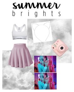 """""""Untitled #109"""" by adiduss-1 on Polyvore featuring Fuji, Cara, Calvin Klein and summerbrights"""
