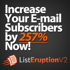 List Eruption v2.0 is a next upgraded version and further developed by Mark Thompson and Dylan Jones, the two famous online marketing companies for their excellent tools for interner marketing (Surely you have once heard of the keyword researching toolkit named LongTailPro, which is one of their well-known products in 2013)It is developed and designed with a brand new user interface, new feature and  function updates together