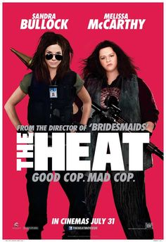 The Heat - I had high expectations and was not disappointed. Very entertaining. They skipped some of the stuff from the previews, thankfully. These two are a good pair. But can Sandra Bullock stop playing this character please.