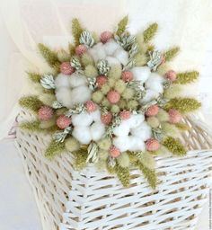 Букеты ручной работы. Ярмарка Мастеров - ручная работа. Купить «Пастель» букет из сухоцветов. Handmade. В эко стиле, для декора