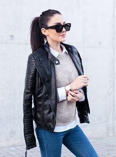 Fashion Crack: Womens Retro Thick Bold Horned Rim Frame Sunglasses 8777
