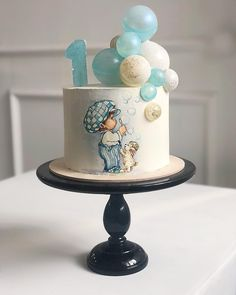 New baby shower boy cake tutorials 63 ideas - Baby,kids,Mother & more - Kuchen Baby Birthday Cakes, Baby Cakes, Cupcake Cakes, Cake Topper Tutorial, Cake Toppers, Fondant Tutorial, Beautiful Cakes, Amazing Cakes, Cupcakes For Boys