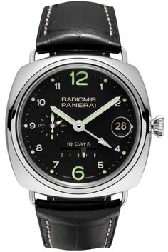 Radiomir 10 Days GMT Automatic Oro Bianco - 45mm PAM00496 - Collection Radiomir - Officine Panerai Watches