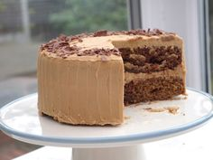 This Muslim Girl Bakes: Mocha Marble Cake with Coffee Buttercream. Coffee Buttercream, Marble Cake, Muslim Girls, Mocha, Cake Recipes, Cakes, Holidays, Baking, Kuchen