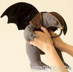stuffed stuff: Songbird from BioShock Infinite