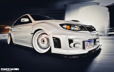 Snow White has got nothing on this STI. Zane just needs to buy me one! Im sick of asking!!!!!