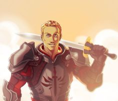 For all you Cullen lovers out there! Dragon Age 2. ~Cullen by MPdigitalART on deviantart