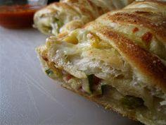 Stephanie Cooks: Roasted Vegetable Stromboli