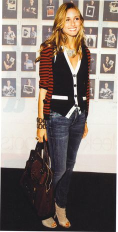 Olivia Palermo, sweater on sweater