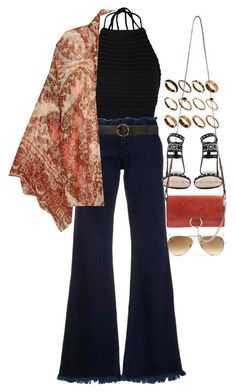 """""""Untitled #10768"""" by nikka-phillips ❤ liked on Polyvore featuring Ray-Ban, ASOS, Boohoo, Marques'Almeida, STELLA McCARTNEY, Free People and Chloé"""
