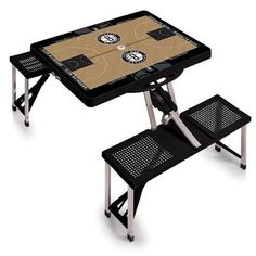 Brooklyn Nets Portable Folding Tailgate Picnic Table