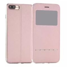 Window Flip Cover Apple iPhone 7, iPhone 7 Plus Touch Smart View + Stand