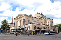 Tampere Theatre building; Finland.  Photo Tiia Monto Cities In Finland, Theatres, Concert Hall, Helsinki, Opera House, Buildings, Houses, Memories, Photo And Video