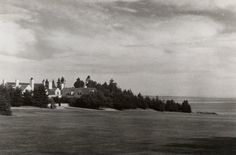 Deacon Brown's Point, Dwight W. Morrow Summer Home in North Haven, Maine.