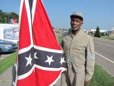 What? Look its a black man and he is supporting a confederate flag. Let me guess, he is racist against blacks too-Right? .....Douglass-Riverview News and Current Events: A Black Man and the Confederate Flag: A Study of Contrasts