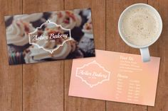 Bakery Business Card Design by Designs by Avlier on @creativemarket