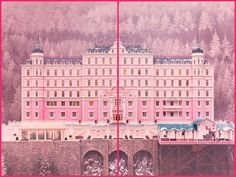 Les decors culte au cinema The Grand Budapest Hotel (W. Grand Hotel Budapest, Moonrise Kingdom, Pantone 2016, Wes Anderson Style, Grande Hotel, Suki, Oscar Winning Movies, Movie Shots, Budapest