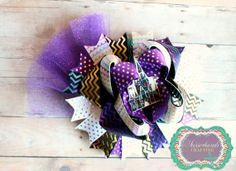 Disney hair bow by ScissorhandsCrafting on Etsy, $10.00