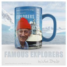 Jacques Cousteau & research vessel Calypso