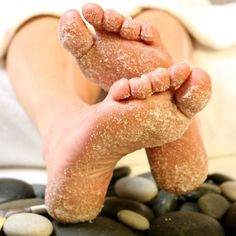 Contact us to book your next foot scrub ! Contact info is listed in our bio #serenetouchmassage
