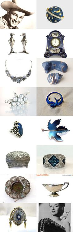 #voguet #vintage #antique #jewelry #home #living Hey, Sweetie, I'm Over the Moon for You