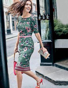 fe7af0e4bafaa6 Boden Fleur Fitted Dress  womensfashionforwork Feminine Dress