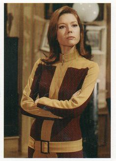 Avengers - Diana Rigg as Emma Peel   - #185 1995 (Series 3)