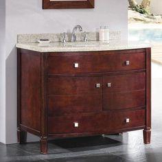 "Ove Decors Georgia 42"" Single Bathroom Vanity Set"