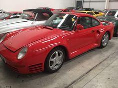 Porsche 959:In total, there were four Aston Martins, 11 Ferraris, one Jaguar, four Lambor...