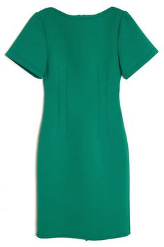 Lanvin Short-Sleeve Techno Dress, $1,897; kirnazabete.com