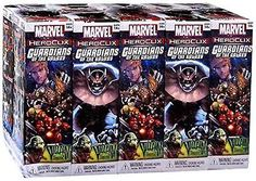 Indy 60167: Heroclix: Marvel - Guardians Of The Galaxy 10 Count Booster Brick -> BUY IT NOW ONLY: $103.2 on eBay!