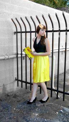 silk spectra vintage inspired prom dress from Mawkishh $70 #etsy #watchmen #dress #spectra