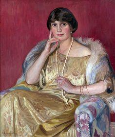 Portrait of a Lady Nikolay Bogdanov-Belsky